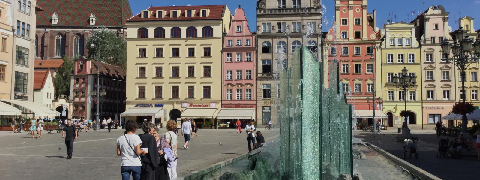 Wroclaw, onbekend maar meer dan de moeite waard.