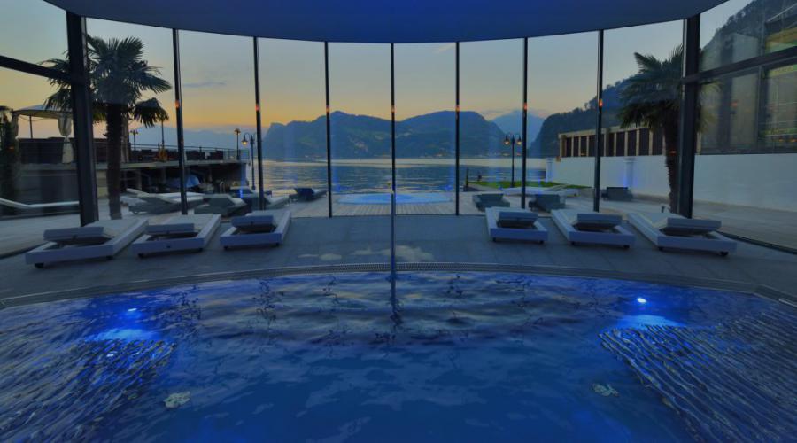 Spa faciliteiten van hotel Pilatus