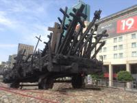 Warschau - herdenking Joden