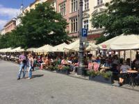 Terrasjes - Krakow - Polen