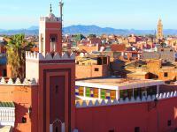 Marrakech - Minaret - Marokko