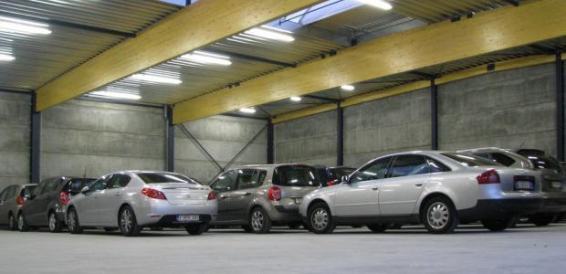 Gratis overdekte garage